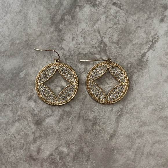 Francesca's Collections Jewelry - Francesca's Silver and Gold Earrings